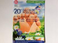 Votre pédicure podologue à Dax Mme Sandrine Zanchin s'est rendue au 20 ème salon de podologie à Paris.