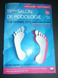 Votre pédicure podologue à Dax Mme Sandrine ZANCHIN s'est rendue au 19 ème Salon de podologie